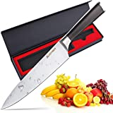 Chef Knife, AUGYMER 8 Inch Professional Chefs Knife German 1.4116 High...