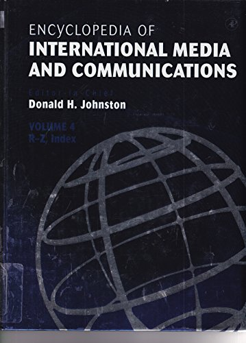 Encyclopedia of International Media and Communications (Encyclopedia of International Media and Communications, Four-Vol