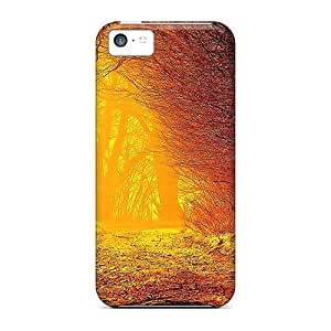 Series Skin Case Cover For Iphone 5c(autumn Sunlight)