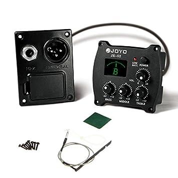 JOYO EQ JE-52 - Afinador de ecualizador para guitarra (salida equilibrada): Amazon.es: Instrumentos musicales