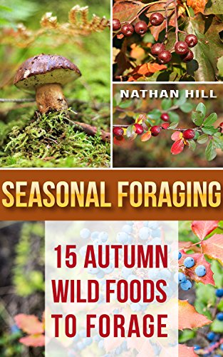 Seasonal Foraging: 15 Autumn Wild Foods to Forage: (Edible Wild Plants, Four Season Harvest, Foraging) (Foraging Food) by [Hill, Nathan]