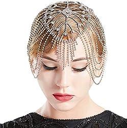 Vintage Crystal Rhinestone Bridal Headpiece