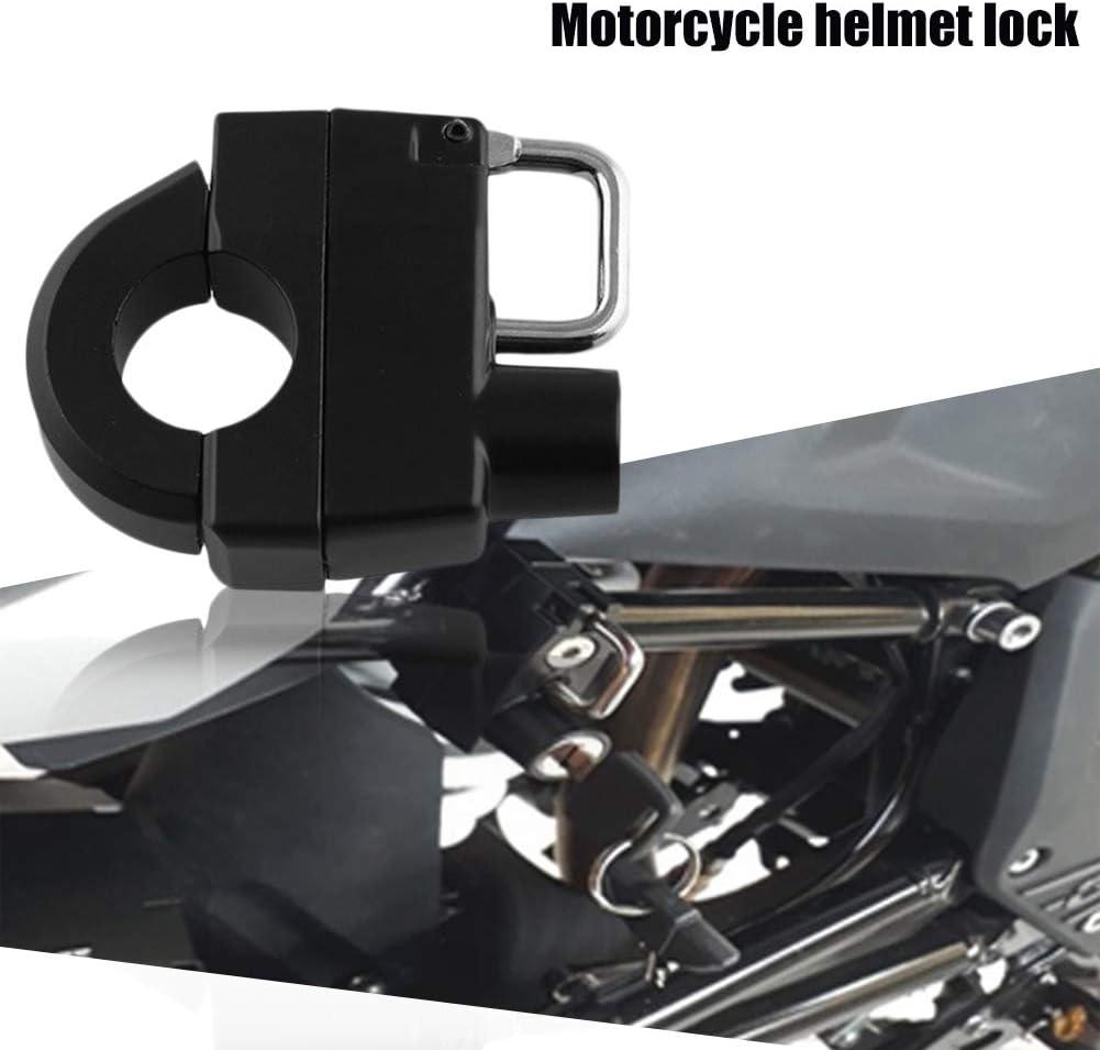Cerradura de seguridad para casco de motocicleta de motocross Margot74 mango de 25 mm con llaves universal para DAVIDSON XL