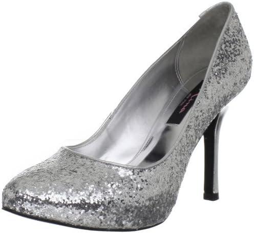 Nina Zelda Womens Silver Pumps Heels
