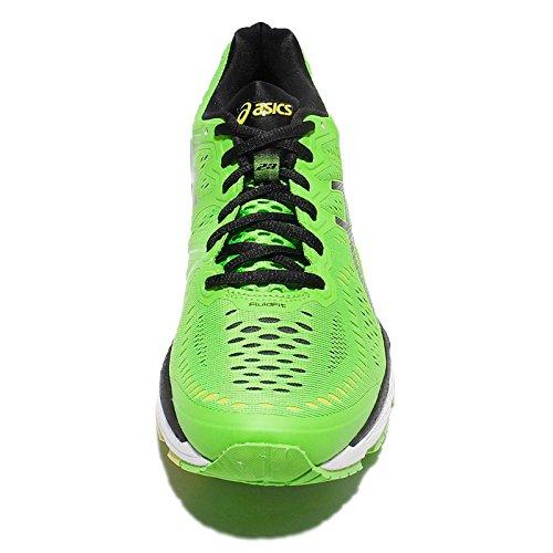 Asics Heren Gel-kayano 23, Groene Gekko / Zwart / Veiligheidsgeel Gecko Groen / Zwart / Veiligheidsgeel