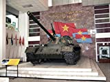 1000 awesome writing prompts - Vietnamese T-54A or Type 59 inside Hanoi Army Museum, Vietnam.