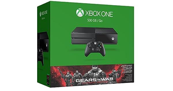 Xbox One 500GB Console - Gears of War: Ultimate Edition Bundle(Versin EE.UU., importado): Amazon.es: Videojuegos