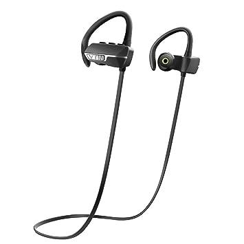 VicTsing Auriculares Bluetooth 4.1 Inalámbrico con Sonido Estéreo para Deporte/Correr con AptX y Manos Libres para iPhone7, Sony, Huawei, XIAOMI PC etc- ...
