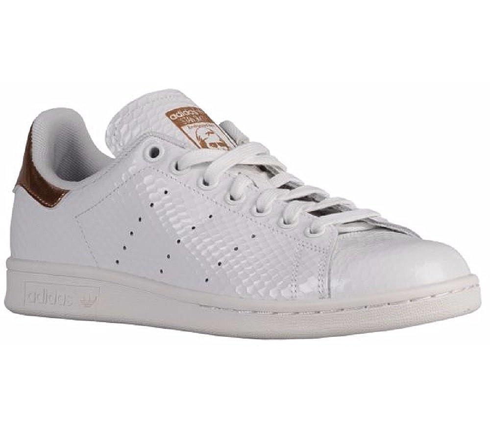 Adidas Women s Stan Smith Copper White Kettle Snakeskin Metallic Rose Gold  S79411 US 8.5  Amazon.ca  Shoes   Handbags 1b8b214db