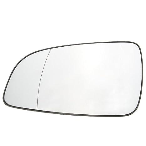 Lato Destro passeggero Esterna riscaldata Vista Posteriore specchietto retrovisore Specchio di Vetro per Astra 2004-2008 13141984 6428785