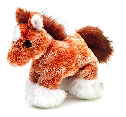 Aurora Plush Clyde Clydesdale Horse