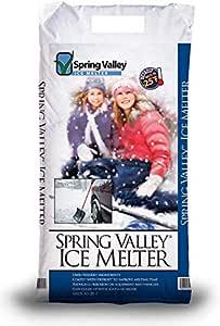 Spring Valley Ice Melter Sidewalk Ice Melt 20 Pounds