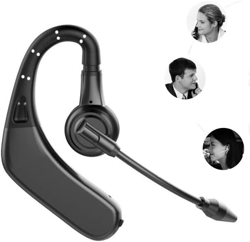 Amazon Com Business Photography Driving Wireless Music Headphones And Microphones Portable Car Universal Phone Handsfree Stereo Mini Noise Reduction Bluetooth Headset Black Electronics