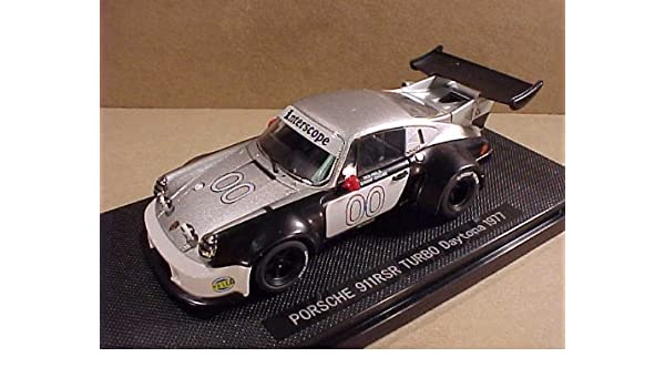 EBBRO 1/43 Scale Prefinished Fully-Detailed Diecast Model, Porsche 911 Carrera RSR Turbo, 1977 24 Hr. Daytona, Interscope Racing, #00, Ongais & Field 44019: ...