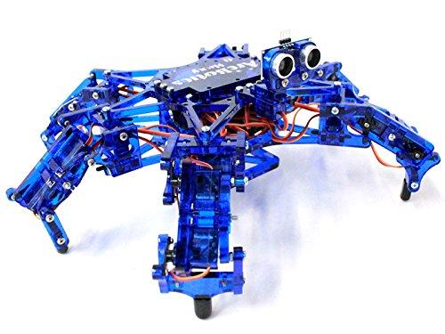 Diy open source arduino powerful hexapod robot kit round
