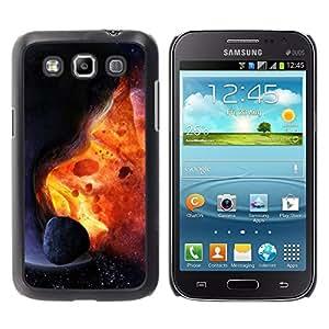 YiPhone /// Prima de resorte delgada de la cubierta del caso de Shell Armor - Space Planet Galaxy Stars 26 - Samsung Galaxy Win I8550 I8552 Grand Quattro