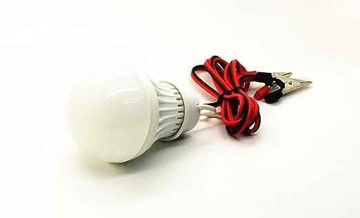 Dc volt led lampadina lampada di emergenza luci con meter di