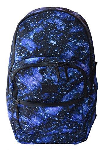 Vans Schooling Pack Laptop Backpack Mens/ womens Galaxy Nebula Ruck Sack Bag