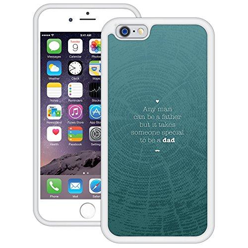 Vatertag (Special Dad) | Handgefertigt | iPhone 6 6s (4,7') | Weiß TPU Hülle