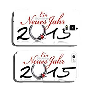 Happy New Year 2015 Horseshoe cell phone cover case iPhone6 Plus
