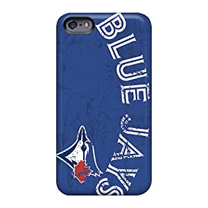 Apple Iphone 6s Plus MKd2447lINF Support Personal Customs Colorful Toronto Blue Jays Pattern Shock Absorption Hard Cell-phone Case -TammyCullen