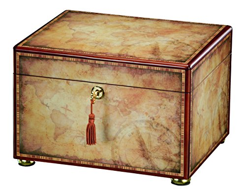 Howard Miller 800-204 (800204) Traveler Map Cremation Urn for Ashes, 260 inches-at Peace Memorials