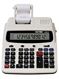 VCT12282 - Victor 1228-2 Two-Color Roller Printing Calculator