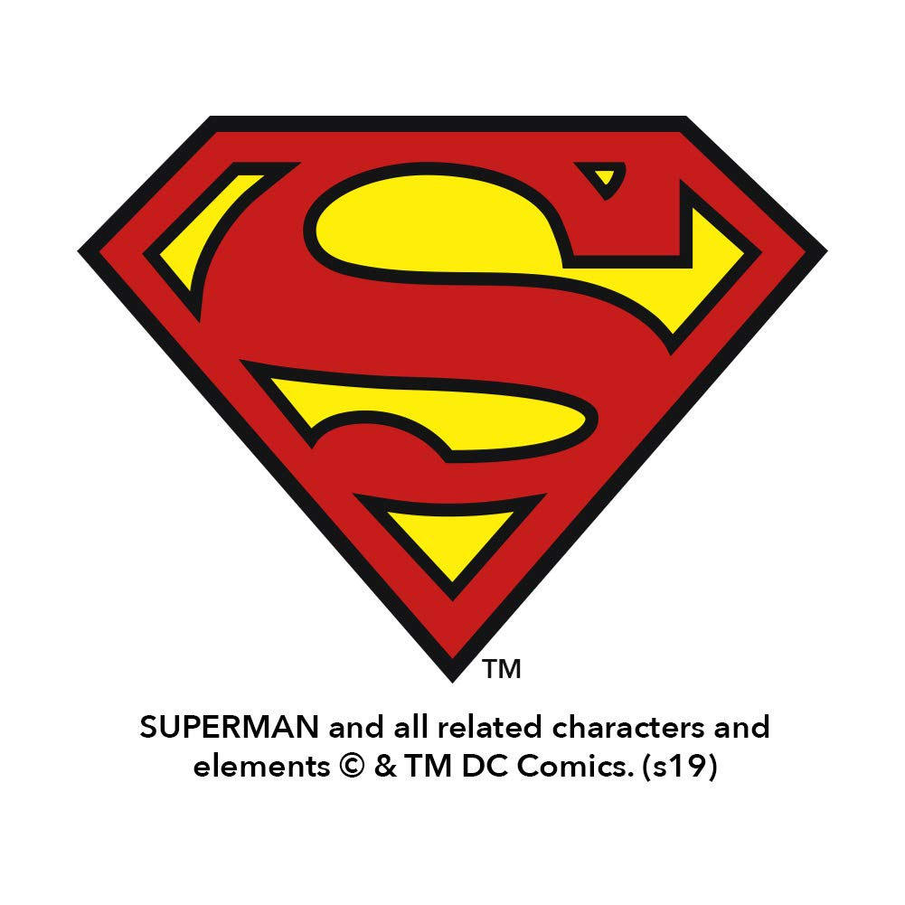 Graphics and More Superman Button Pattern Novelty Metal Vanity Tag License Plate