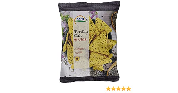 Zanuy Tortilla Chip Chia