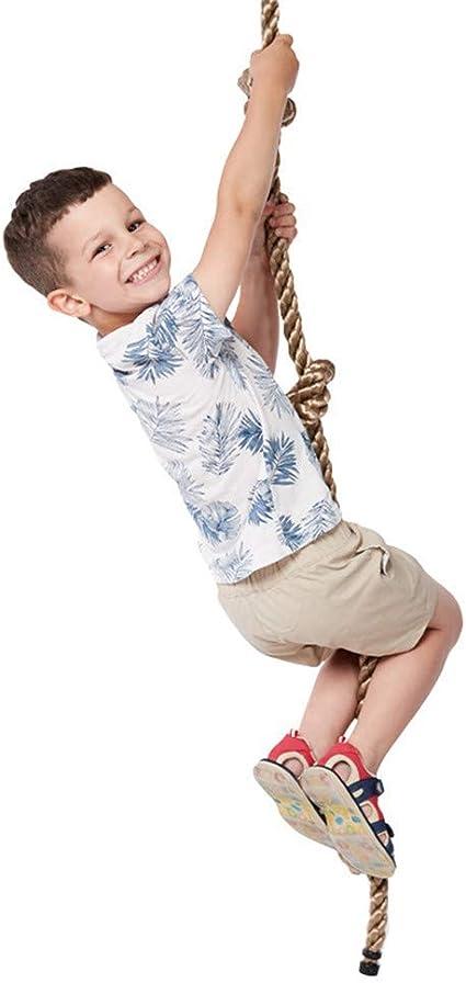L.HPT Cuerda de Escalada Creativa para niños, Cuerda de ...