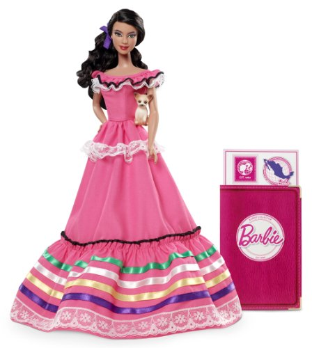 Barbie Collector Dolls of The World Mexico Doll, Baby & Kids Zone