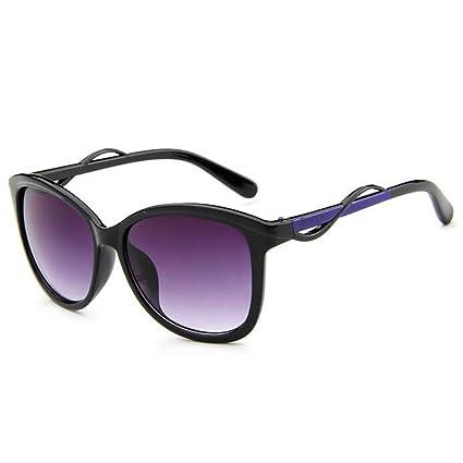 XIAOLIN Occhiali anti-radiazioni Occhiali anti-UV Moda Occhiali da sole bicolore Occhiali da vista neutri ( Colore : Rosa ) sHlsi