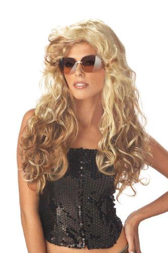 Wig Fashionista - California Costumes Women's Fashionista Wig,Multi,One