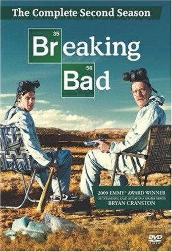 Breaking Bad: The Complete 2nd Season (dvd Box Set, New)