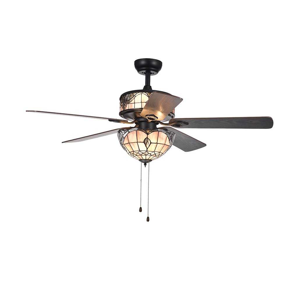 Warehouse Of Tiffany Cfl 8285bl Ceiling Fan 52 Ac 552al Wiring