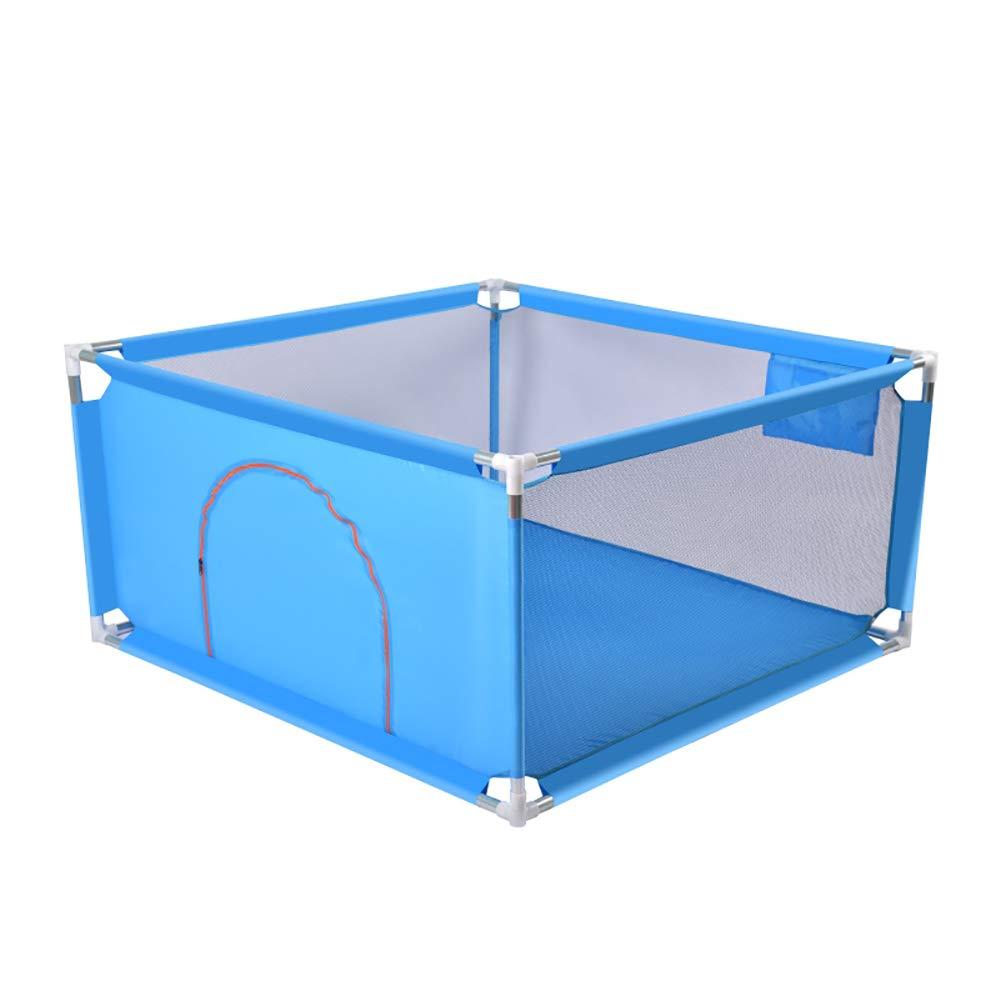 最も  ベビーサークル 室内幼児の遊びゲームのフェンス、小さな安全アンチ秋の赤ちゃんの遊び場 青 (色、一緒に遊ぶために1-2子供を収容することができます (色 : 青, サイズ B07KVJ1JLR さいず : 128x128x68cm) 128x128x68cm 青 B07KVJ1JLR, LIVELIFE【ライブライフ】:00a52f50 --- a0267596.xsph.ru