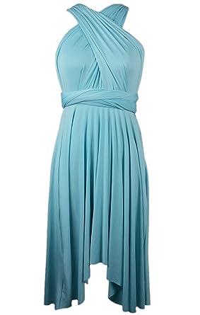 Edaydress Plus Size high Low Hem Dress Infinity Dresses Short ...