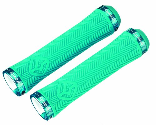 Gravity Light LockOn Grips, 140mm, Blue