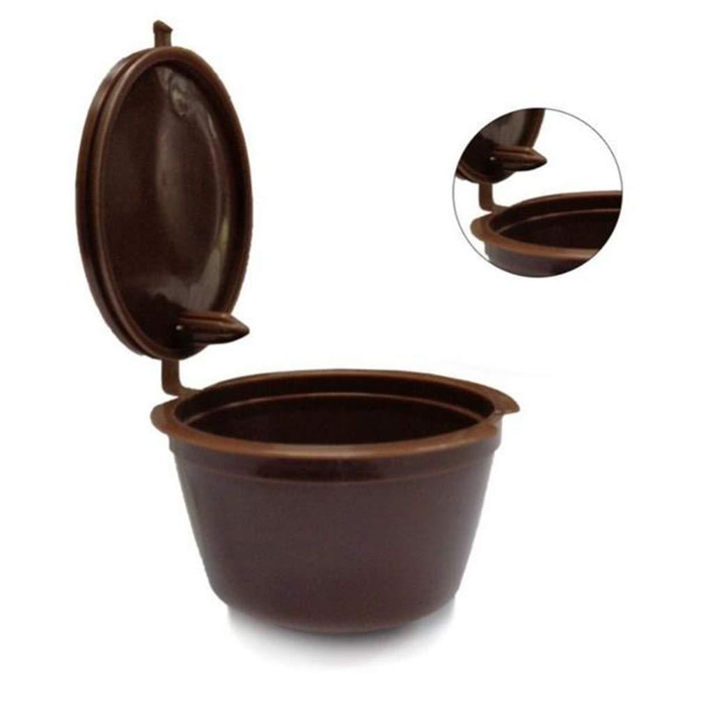 OUNONA Cápsulas Filtros de Café Recargable Reutilizable para ...