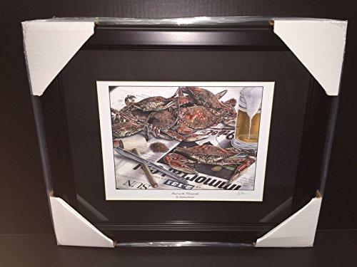 Ripken Jr Framed 8x10 Photo - BALTIMORE ORIOLES CAL RIPKEN JR 2131 MARYLAND CRAB 8X10 PHOTO FRAMED