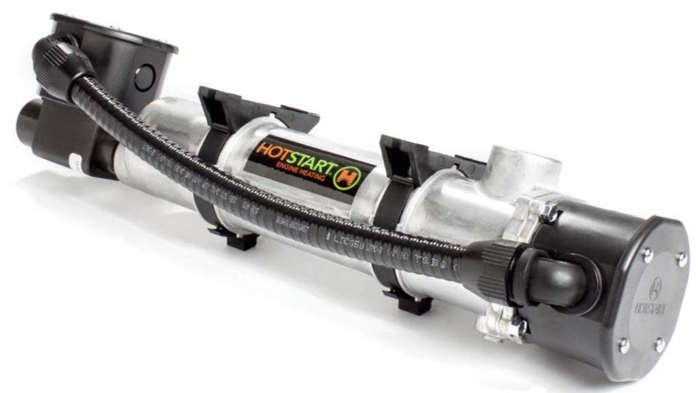 HOTSTART CB120210-200 Engine Heater - Weather-tight Coolant preheater with Thermostat - Original - 1 Year warranty!