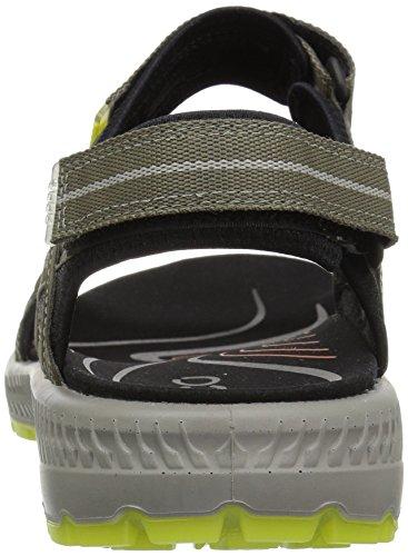 Ecco Mens Terra 3s Athletic Sandal Asfalt