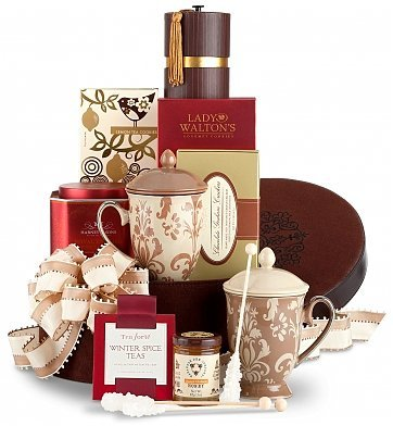 tea rrific womens holiday christmas gift baskets ideas christmas gift present for