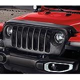 Mopar Jeep 82215369 Cubierta Protector de Borde Frontal de Cofre para Wrangler JL, de vinil Color Negro.