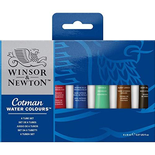 Winsor & Newton Cotman Water Colour Paint, Set of