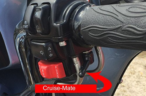 Cruise-Mate 2004-BLK - Throttle assist for Harley-Davidson motorcycles 1996 - Present (except 2014 + Touring models).