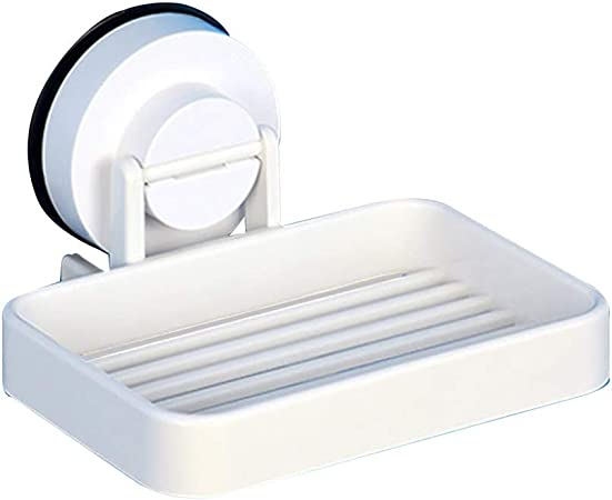 Yuanyuanliu Escurrir Caja de jabón Ventosa Colgar en la Pared jabonera jabón Neta baño jabonera perforación Libre: Amazon.es: Hogar