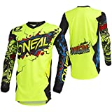ONeal Unisex-Child Youth Element Jersey (Villain) (Neon Yellow,
