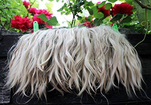 Mohair doll hair reroot Resistant Hair Pieces for Handcraft Doll Wigs fair-haired -