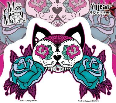 - Miss Cherry Martini - Kitty - Sticker/Decal